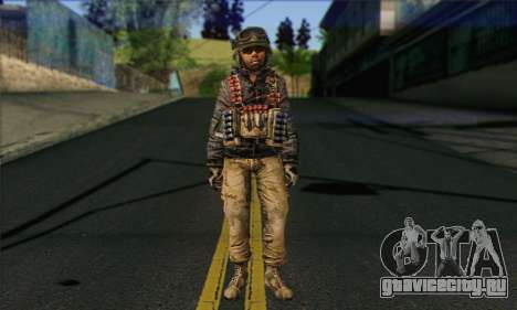Task Force 141 (CoD: MW 2) Skin 16 для GTA San Andreas