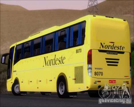 Busscar Elegance 360 Viacao Nordeste 8070 для GTA San Andreas двигатель