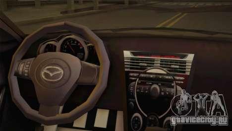 Mazda RX-8 Drift для GTA San Andreas вид сзади слева