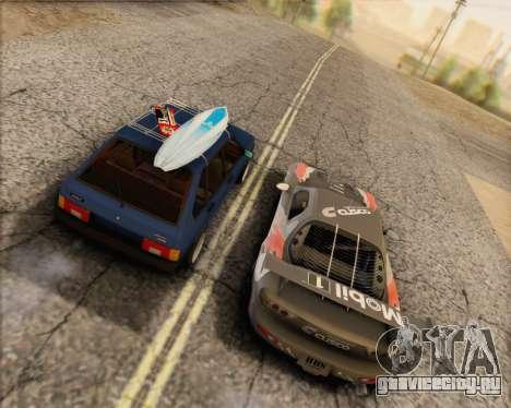 ВАЗ 2109 Low Classic для GTA San Andreas вид слева
