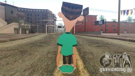 Sheen from Jimmy Neutron для GTA San Andreas второй скриншот