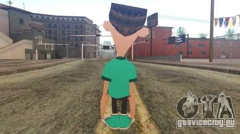 Sheen from Jimmy Neutron для GTA San Andreas второй скриншот