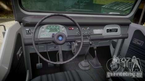Toyota FJ40 Land Cruiser Soft Top 1978 для GTA 4 вид изнутри