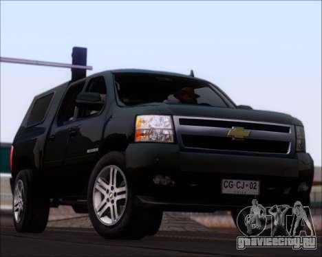 Chevrolet Silverado 2011 для GTA San Andreas салон