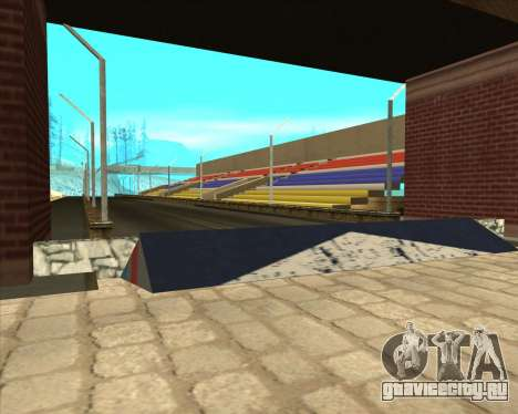 Sky Road Merdeka для GTA San Andreas второй скриншот