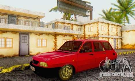 Dacia 1310 Break WUC для GTA San Andreas вид сзади слева