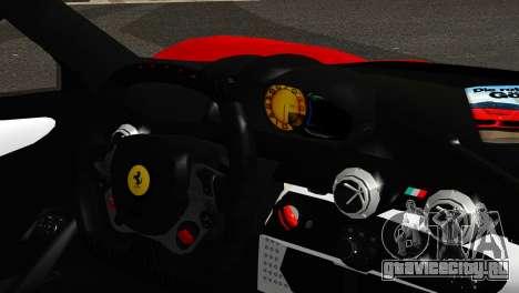 Ferrari LaFerrari 2014 (IVF) для GTA San Andreas вид сзади слева