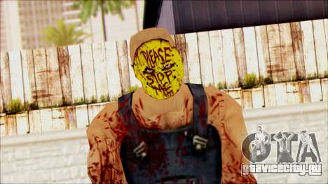 Manhunt Ped 15 для GTA San Andreas третий скриншот