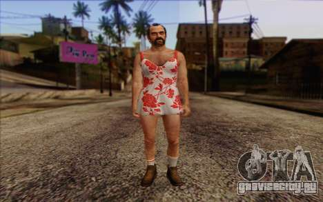 Trevor Phillips Skin v2 для GTA San Andreas