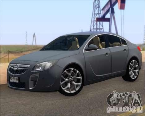 Opel Insignia OPC для GTA San Andreas