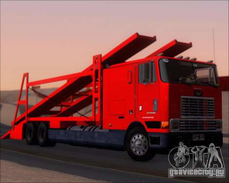 Navistar International 9700 1997 для GTA San Andreas вид слева