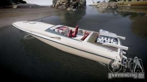 GTA San Andreas Jetmax для GTA 4 вид слева