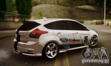 Ford Focus ST Eco Boost для GTA San Andreas вид слева