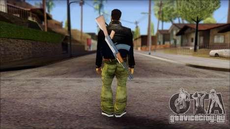 Shades and Gun Claude v2 для GTA San Andreas второй скриншот