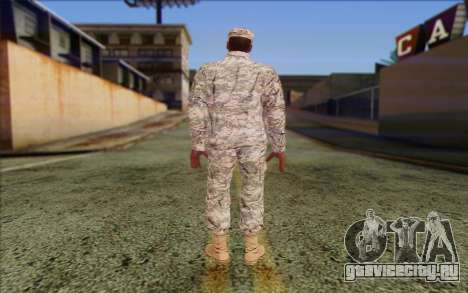 California National Guard Skin 5 для GTA San Andreas второй скриншот