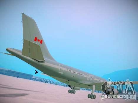 Canadian Forces Airbus CC150 Polaris для GTA San Andreas вид сзади