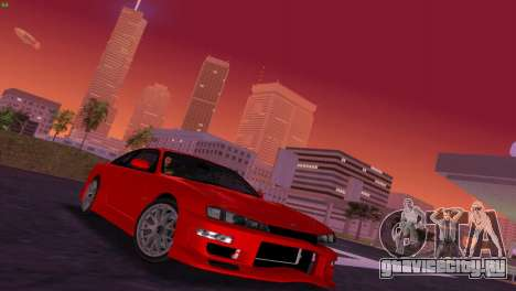 Nissan Silvia S14 RB26DETT Black Revel для GTA Vice City