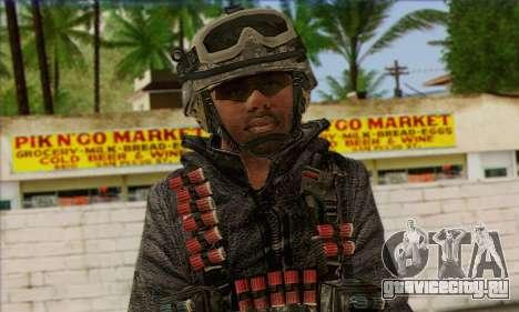 Task Force 141 (CoD: MW 2) Skin 4 для GTA San Andreas третий скриншот