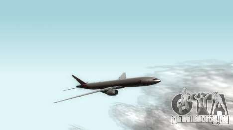 Boeing 777-280ER Asiana Airlines для GTA San Andreas вид слева