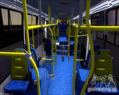 Caio Millennium II Volksbus 17-240 для GTA San Andreas вид изнутри