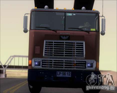 Navistar International 9700 1997 для GTA San Andreas салон