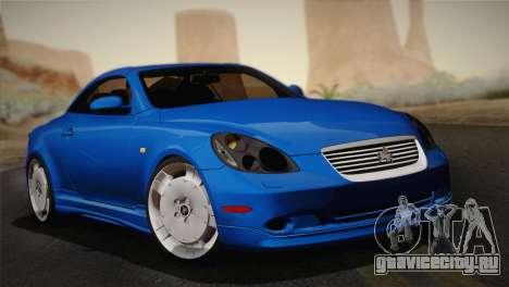 Toyota Soarer 430SC 2002 (IVF) для GTA San Andreas
