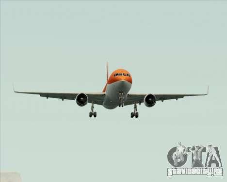 Boeing 767-300ER Australian Airlines для GTA San Andreas вид сверху