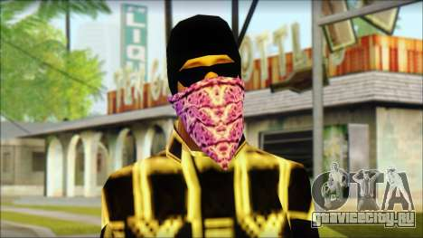 East Side Ballas Skin 3 для GTA San Andreas третий скриншот