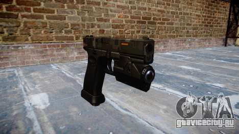 Пистолет Glock 20 ce digital для GTA 4