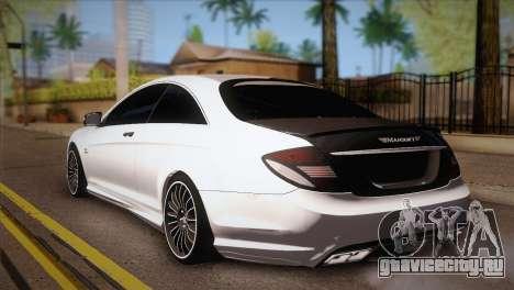Mercedes-Benz CL63 AMG для GTA San Andreas вид слева