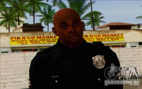 Полицейский (GTA 5) Skin 3 для GTA San Andreas третий скриншот