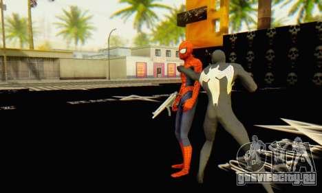 Skin The Amazing Spider Man 2 - Molecula Estable для GTA San Andreas четвёртый скриншот
