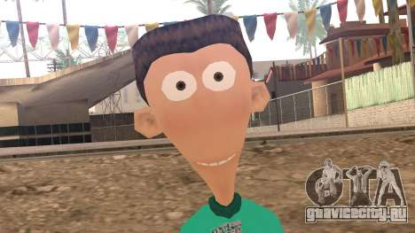 Sheen from Jimmy Neutron для GTA San Andreas третий скриншот