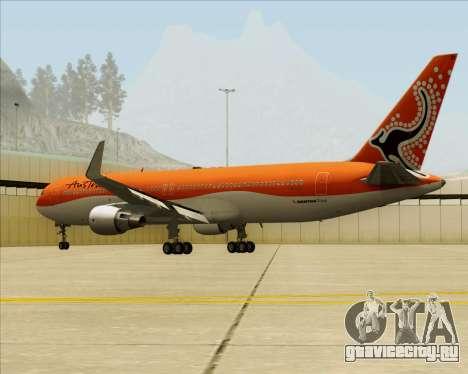 Boeing 767-300ER Australian Airlines для GTA San Andreas вид изнутри
