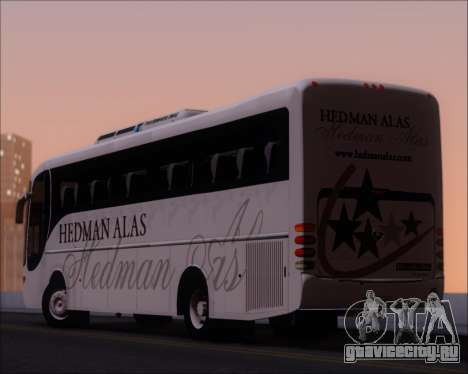 Comil Champione 2005 Hedman Alas для GTA San Andreas салон