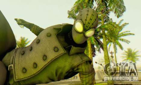 Skin The Amazing Spider Man 2 - DLC Noir для GTA San Andreas третий скриншот