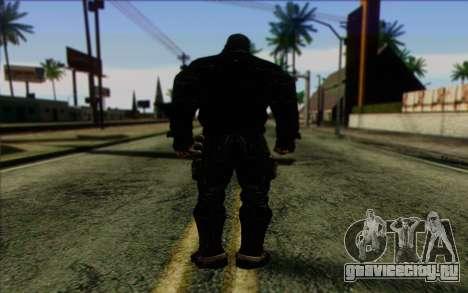 Bane from Batman: Arkham Origins для GTA San Andreas второй скриншот
