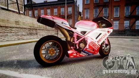 Ducati 1198 R для GTA 4 вид слева