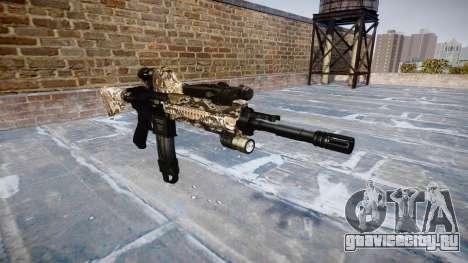 Автоматический карабин Colt M4A1 viper для GTA 4