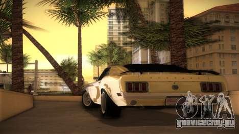Ford Mustang 492 для GTA Vice City вид слева