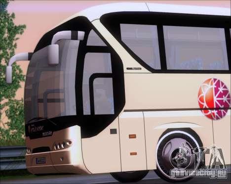 Neoplan Tourliner Emile Weber для GTA San Andreas вид изнутри