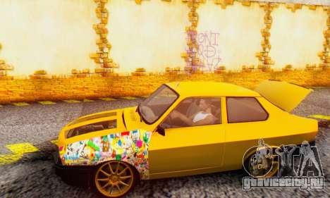Dacia 1310 Sport Tuning v2 для GTA San Andreas вид сзади слева