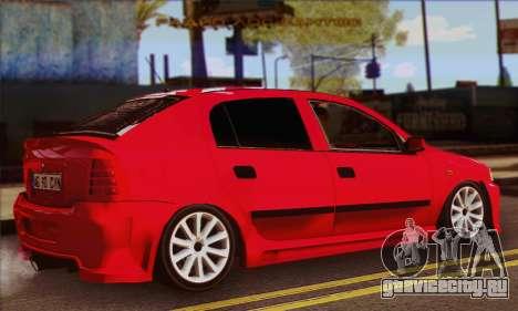 Opel Astra для GTA San Andreas вид слева