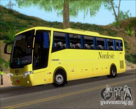 Busscar Elegance 360 Viacao Nordeste 8070 для GTA San Andreas салон