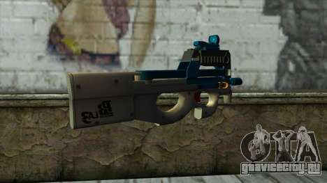 P90 from PointBlank v5 для GTA San Andreas второй скриншот