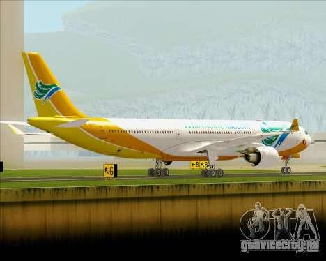 Airbus A330-300 Cebu Pacific Air для GTA San Andreas вид справа