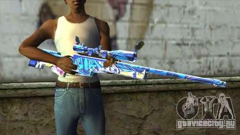 Graffiti Sniper Rifle v2 для GTA San Andreas третий скриншот