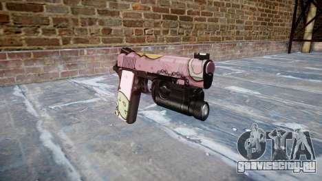 Пистолет Kimber 1911 Kawaii для GTA 4