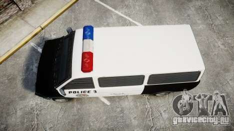 Declasse Burrito Police Transporter ROTORS [ELS] для GTA 4 вид справа