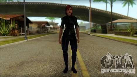 Mass Effect Anna Skin v8 для GTA San Andreas